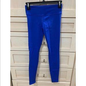 Cobalt blue Fabletic workout leggings